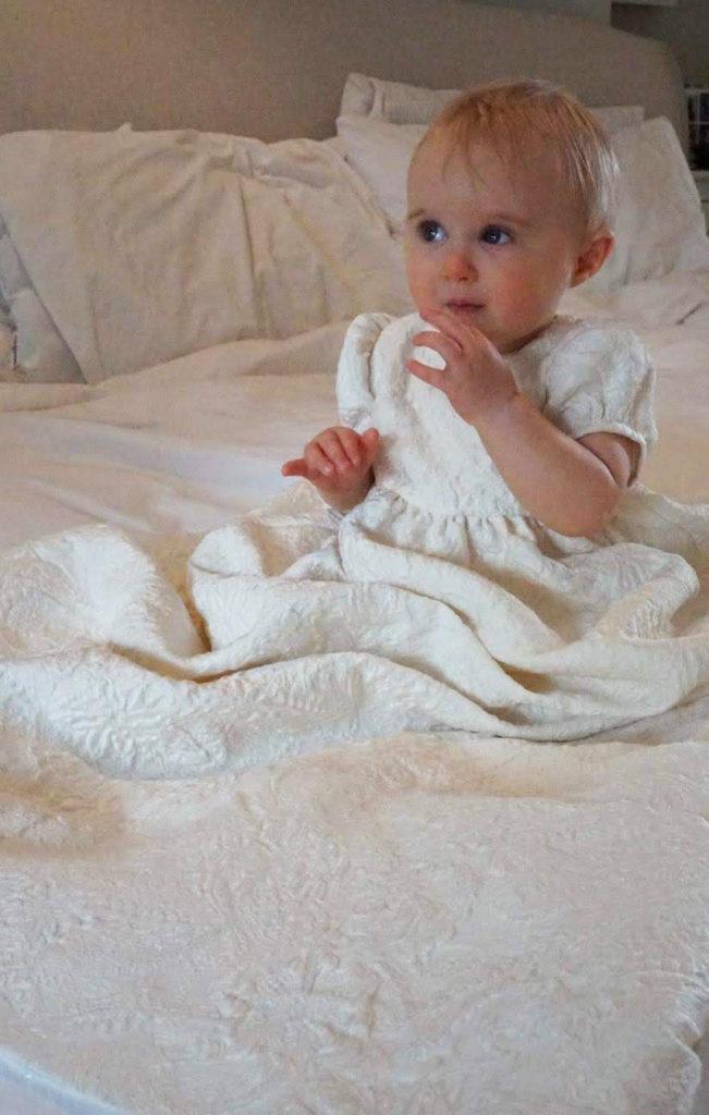 Bespoke dress for christening